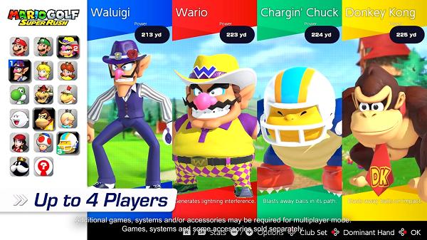 Permainan Mario Golf_ Super Rush