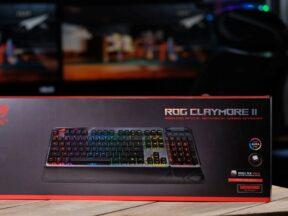 Review Keyboard Asus ROG Claymore II